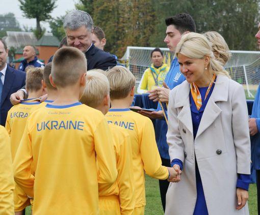 На отстроенном стадионе «Авангард» прошел турнир на Кубок президента