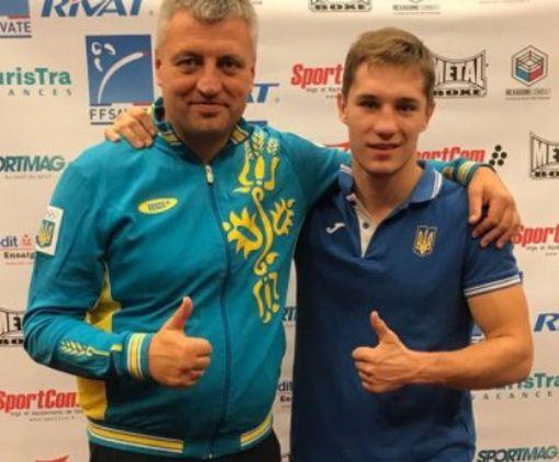 Харьковчанин нокаутировал в Париже чемпиона мира по французскому боксу