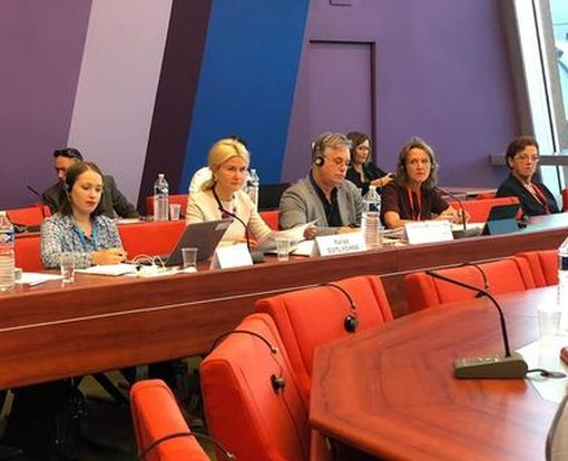 Светличная приняла участие в заседании Бюро Конгресса региональных властей Совета Европы: фото-факт