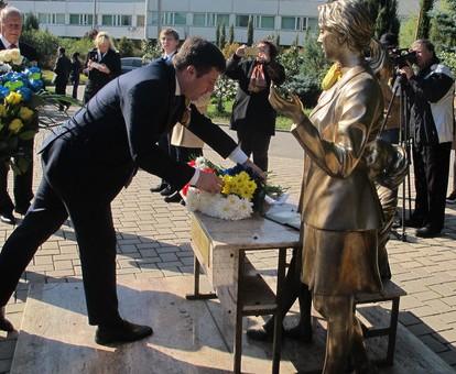 Харьковчане поблагодарили Польшу