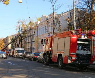 Пожар в Харькове: горела больница