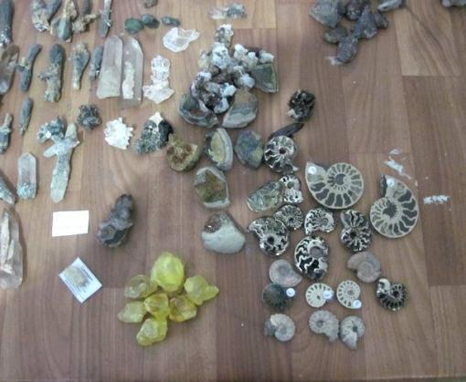 Харьковские пограничники изъяли контрабандные минералы
