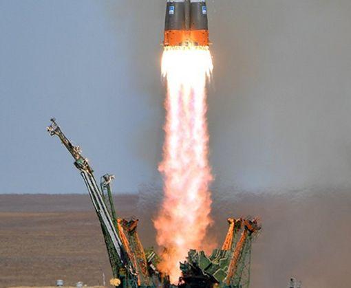 В Сети появилось видео с моментом аварии российского «Союза» с экипажем МКС