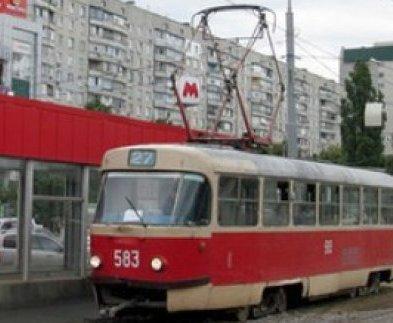 Харьковские трамваи изменят маршрут