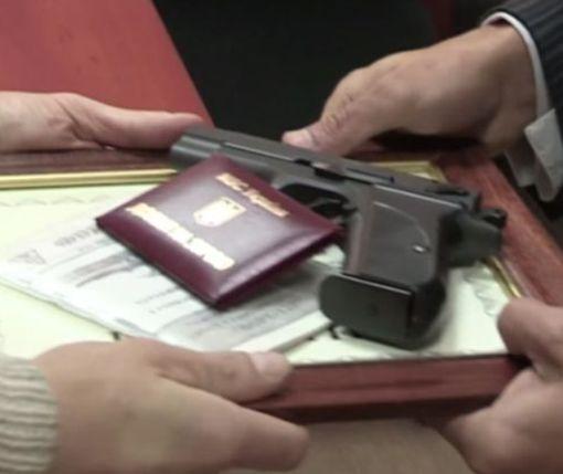 Нардеп в Киеве «доигрался» с наградным оружием