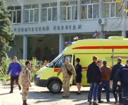 Взрыв в оккупированной Керчи — много погибших: видео-факт