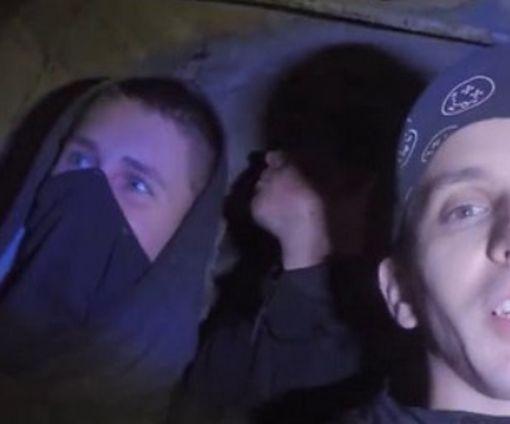 В Харькове экстремалы забрались в секретный бункер метро: видео-факт