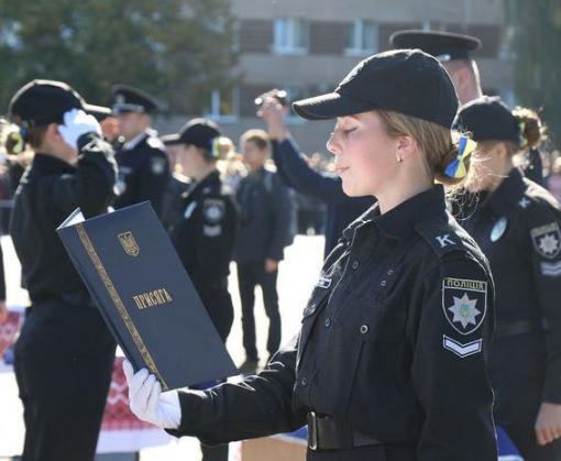 На Харьковщине сто лет готовят полицейских