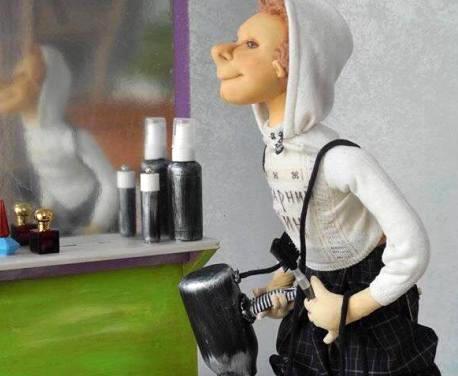 В Харьковском художественном музее презентуют выставку авторских кукол