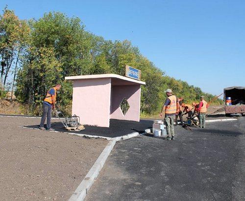 На дороге Харьков – Ахтырка установят автопавильоны