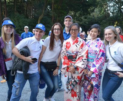 Студенты из Харькова побывали в Японии благодаря победе в конкурсе