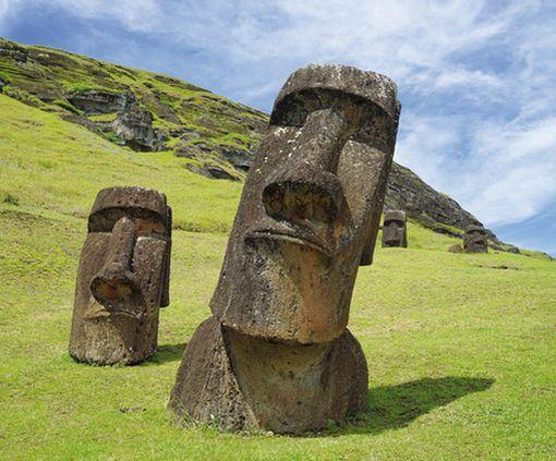 Разгадана загадка огромных истуканов с острова Пасхи