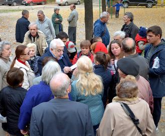 Александр Кирш провел очередную встречу с избирателями
