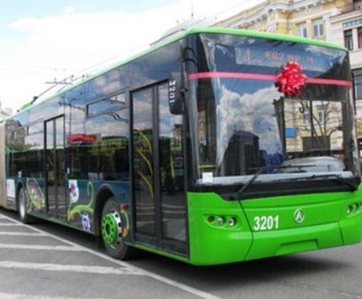 Уже с нового года в Харькове появятся новые троллейбусы