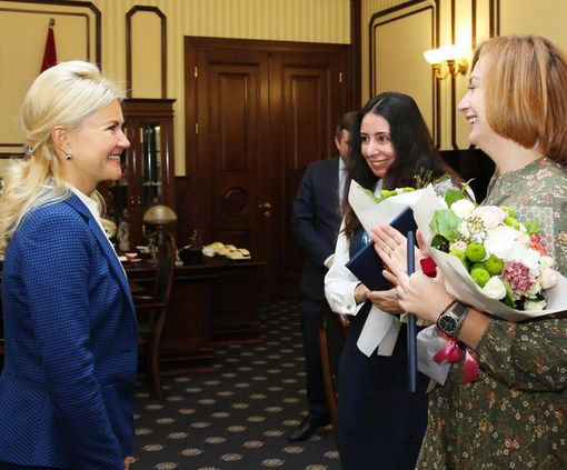 Светличная вручила награды ХОГА общественным активисткам: фото-факт