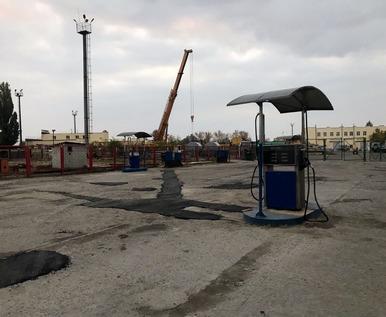 В Харькове закрыли подпольную бензоколонку