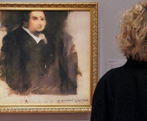 За портрет, написанный искусственным интеллектом, заплатили огромные деньги: фото-факт