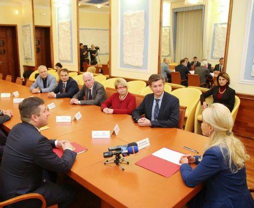 Светличная встретилась с участниками Ассоциации театров оперы и балета Украины