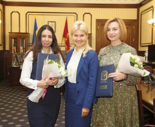 Юлия Светличная вручила награды активисткам