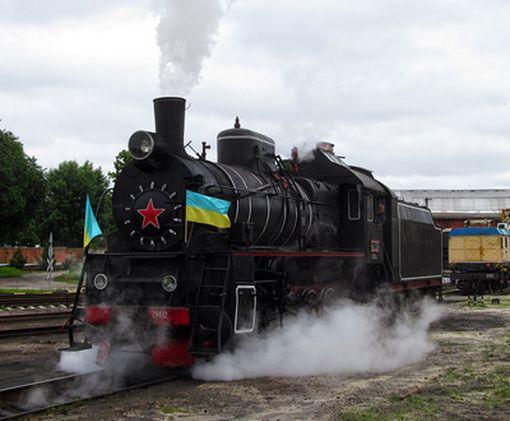 Для ветеранов железной дороги из Харькова организуют паровозный  ретро-рейс