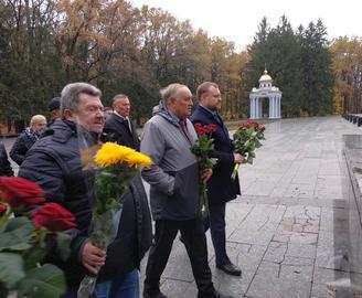 В Харькове отметили 74-ю годовщину освобождения Украины