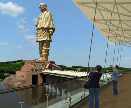 В Индии откроют высочайшую статую в мире: видео-факт