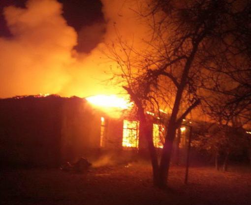 Ночной пожар в Харькове потушили только к утру