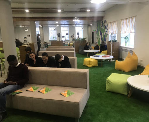 В Харькове открыли первое в Украине интерактивное пространство для студентов: фото-факты