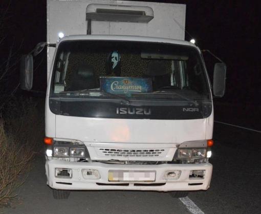 В Харькове пьяный угнал грузовик