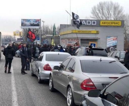 «Евробляхеры» изменят формат акции протеста под Харьковом