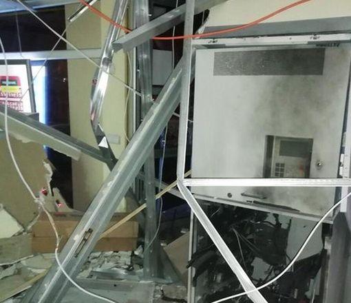 В Харькове злодеи взорвали и ограбили банкомат: фото-факт