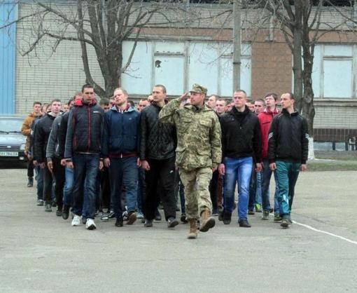 Харьковская область выполняет план призыва на срочную службу