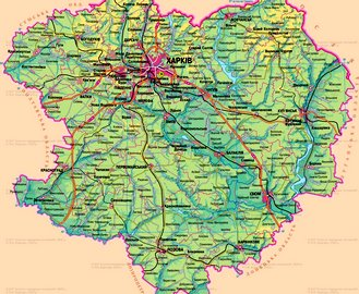 На Харьковщине укрупнят районы