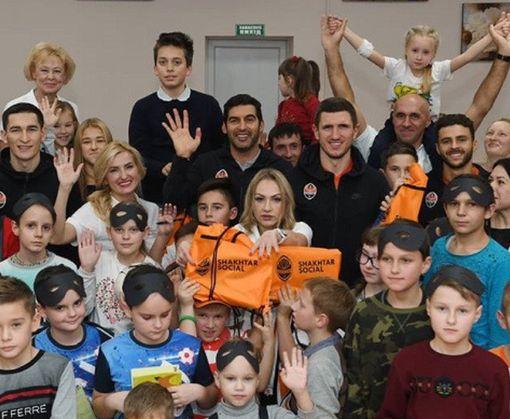ФК «Шахтер» сделал подарок детской больнице в Харькове