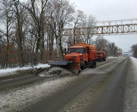 На всех автодорогах Харьковской области обеспечен проезд автотранспорта