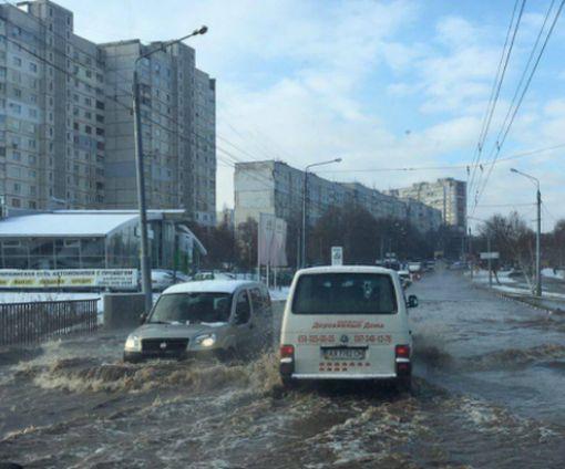 Стала известна причина коммунального «потопа» в Харькове