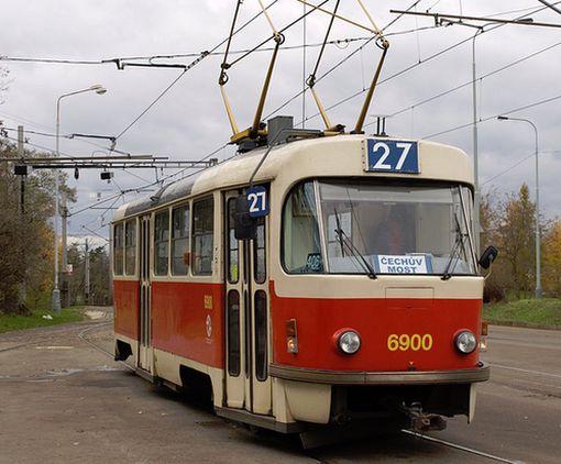 В Харькове заметили трамвай на очень необычной тяге: фото-факт