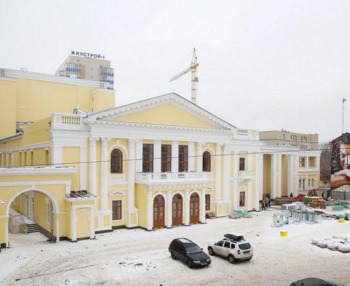 В Харьковской филармонии проводятся финишные работы