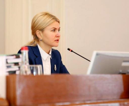 В областном совете создана депутатская группа «Единство и развитие», возглавила которую Юлия Светличная