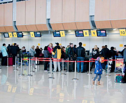 Аэропорт Харьков заметно увеличил в ноябре пассажиропоток