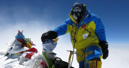 Огромный флаг Украины может взвиться над Эверестом
