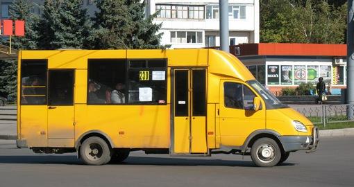 В Харькове старые маршрутки будут отправлять в металлолом