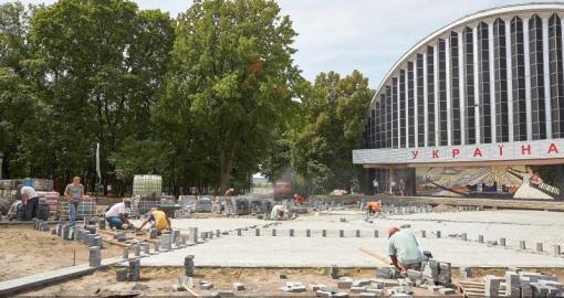 В саду Шевченко появится новый светомузыкальный фонтан
