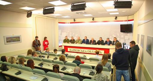 Военное положение: в Харьковской области работают 27 мобильных постов полиции