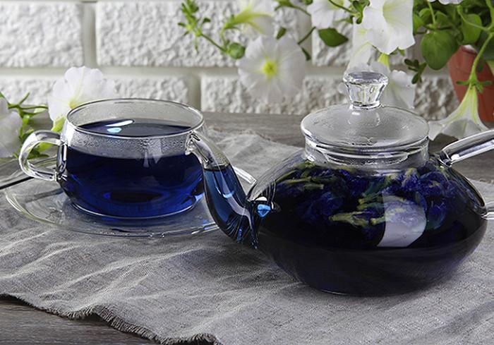 Синий чай из Таиланда: свойства, как заваривать и пить