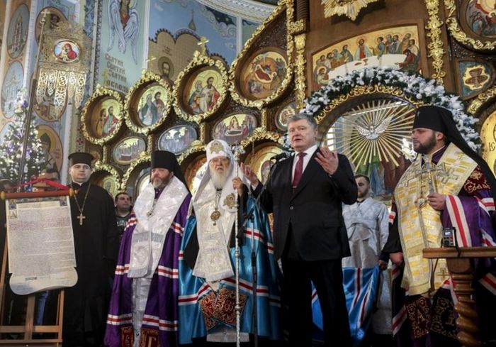 Президент Украины: «Без независимой церкви невозможно независимое государство»
