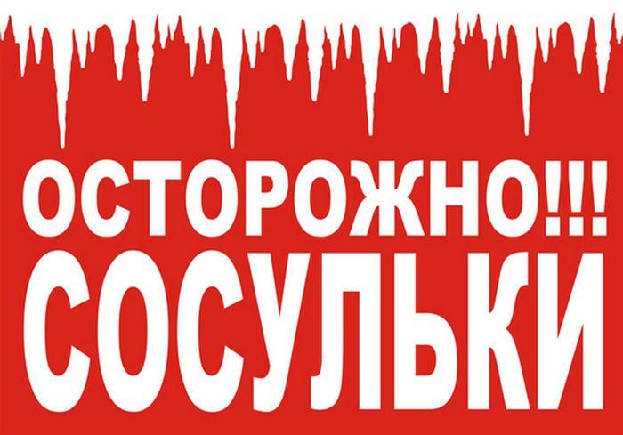В Харькове упавшая сосулька изуродовала BMW: фото-факт