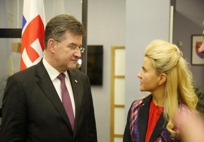 Глава ХОГА встретилась с Министром иностранных и европейских дел Словакии