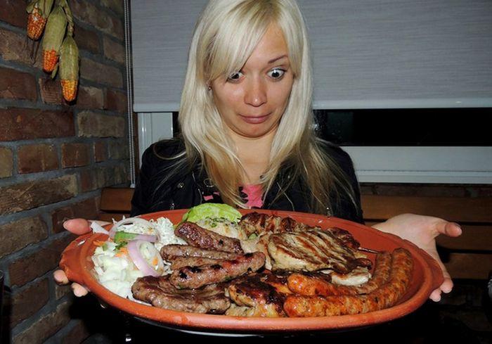 Ученые предложили простой способ определения размера полезной порции пищи (фото)