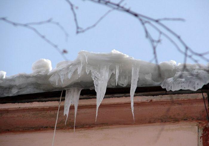 В Харькове ожидается потепление и сход снега с кровель